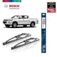 Wiper Mobil Toyota Hilux 2016 Sepasang Bosch Advantage
