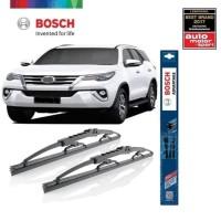 Wiper Mobil Toyota Fortuner 2016 - Onward Sepasang Bosch Advantage