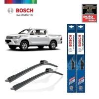 Wiper Mobil Frameless Toyota Hilux 2016 Bosch Clear Advantage