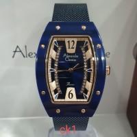 Jam tangan wanita Alexandre Christie AC2778LH ORIGINAL BERGARANSI - Biru