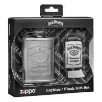 Korek Zippo Original Jack Daniels And Flask Gift Set / Zippo Original