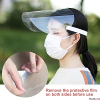 safety shield face mask masker penutup wajah plastik mika tebal