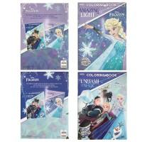 Coloring Book Frozen Adinata Large. Buku Mewarnai Anak - FROZEN RANDOM
