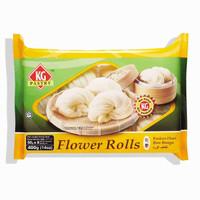 Kawan Food Flower Plain Roll / Plain mantao / Bakpao Kosong 400Gr