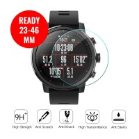 UNIVERSAL TEMPERED GLASS BULAT JAM TANGAN SMARTWATCH 23-46MM PROTECTOR