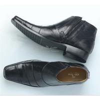 Sepatu Safety Boots Boot Pria Sleting Ujung Besi Sepatu Kerja Proyek