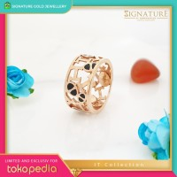 Cincin Emas IT collection Ring Rose Gold. 020