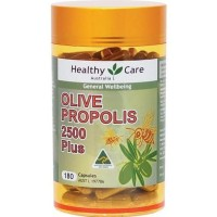 TERLENGKAP Healthy Care Olive Propolis 2500 Plus - 180 kapsul TERLARIS