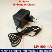 Adaptor Timbangan Digital Charger Timbangan 12V 500 Ma Anggistore90