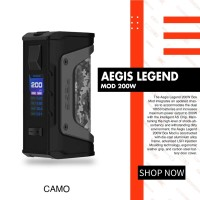 Aegis Legend 200W Box Mod Only By Geek Vape
