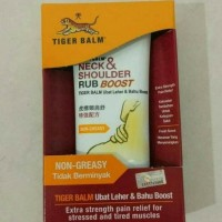 Tiger Balm Neck & Shoulder Rub Balsam Gel Boost Extra Strength Fast