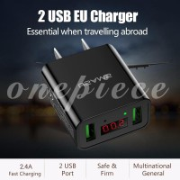 Ready Stock Power Adapter Wall Adapter Max 2.2A Notebook Enchanting