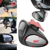 Kaca Spion Dalam Mobil Dapat Berputar 360 Derajat 2 in 1 Dapat