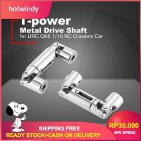 2Pcs t-power dunge64mm Metal Drive Shaft Upgrade untuk JJRC q65 1 /