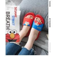 【Sealynn】Sandal Wanita Pria Sepatu Sesame Street Couple Sol