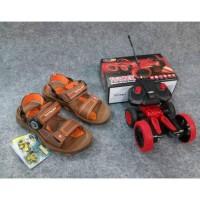 Sandal sendal gunung anak laki-laki pria HOMY PED FALCON 02 BROWN