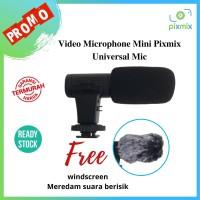 Video Microphone Mic Mikrofon Kamera Video Vlog DLSR Mirrorless