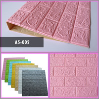 Wallpaper 3D FOAM / Wallfoam Motif Kayu 3D