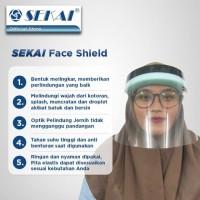 Sekai Face Shield Pelindung Wajah Bahan Mika Anti Droplet Virus APD