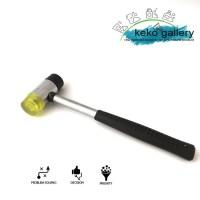 Soap Stamp Rubber Hammer d.35mm / Palu Karet 2 sisi d.35mm
