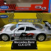 Mainan Diecast Welly Mercedes Benz CLK-GTR