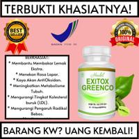 Obat Pelangsing Hendel Exitoc Green Coffee Bean Extract 500mg-Terlaris