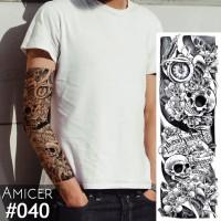 Tattoo/Tattoo temporary/Tattoo Temporer/Tattoo 17x48 cm Qb0040