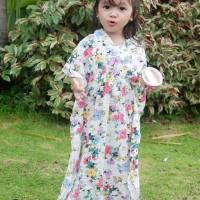 kaftan anak 1 2 3 4 5 6 anak perempuan gamis tunik baju lebaran