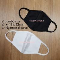 Masker Kain Non Medis 2Ply Korea Premium Scuba Tebal Bisa Dicuci