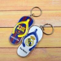 Gantungan Kunci Sendal Klub Bola