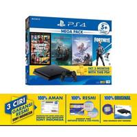 PS4 Slim 1TB 1 tb Megapack 2 bundle 4game GTA5 GTA 5 GTAV ps 4 slim