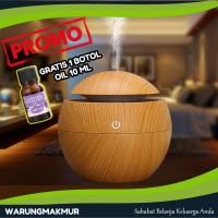 Pelembab Udara / Air Humidifier Diffuser Aromaterapi Lampu Tidur Murah