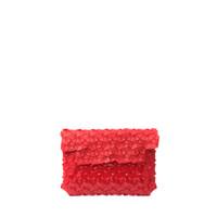 Byo Fragments Clutch Medium in Candy Red