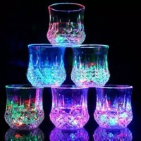 Gelas Nyala Lampu LED Unik Lamp Night Party Pesta Ulang Tahun