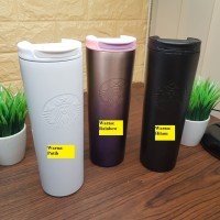 Tumbler Thermos Starbucks Stainless Steel 500ml Tahan Panas Dan Dingin