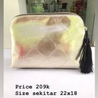 Victoria Secret pouch GOLD RUMBAI
