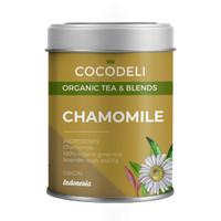 CHAMOMILE   Big Tin   Cocodeli Organic   Teh Hijau Chamomile Lavender