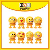 Mainan/ Pajangan Dashboard Dasbor Mobil Emoji termurah goyang