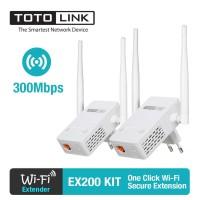 Totolink EX200 Wifi Extender 300mbps garansi resmi 3 tahun