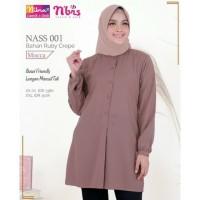 Original ATASAN NIBRAS NASS 01 Mocca Abu Muda Ruby Crepe