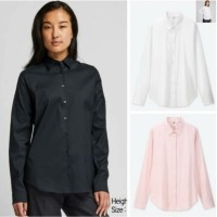 GU kemeja uniqlo supima cotton