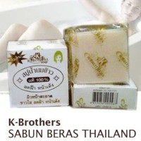 Sabun Beras Thailand K-Brother Sabun Susu Beras K Brother Thailand ORI