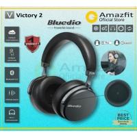 Bluedio V2 Bluetooth 5.0 Gaming headphones PPS12 - Hitam