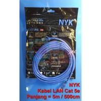 Kabel Lan Utp Cat5e Nyk 500cm - 5 meter