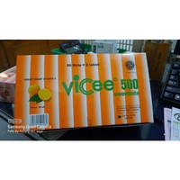 VICEE 500MG TAB HISAP - 50STRIP @ 2TAB (100TAB)