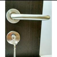 kunci pintu / handle rose set / kunci model pisah model U