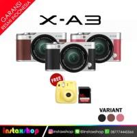 Fujifilm XA3 X-A3 Kit XC 16-50mm Garansi Resmi Fujifilm Indonesia