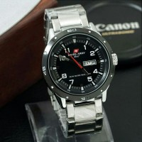 SWISS ARMY ORIGINAL SA-8151 JAM TANGAN PRIA - BLACK