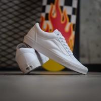 Sepatu Pria Vans Old Skool Classic True White Original