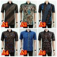 Hem Batik Pria - Lengan pendek - seragam kantor